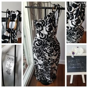 One sleeve long maxi dress from Cache